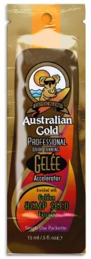 Australian Gold Geleé Accelerator HEMP opalovací krém do solária 15ml