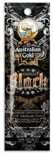 Australian Gold Sinfully Black opalovací krém do solária 15ml