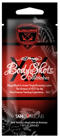 Ed Hardy Tanning Body Shots Doubleshot - 20ml