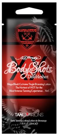 Ed Hardy Tanning Body Shots Doubleshot - 20ml
