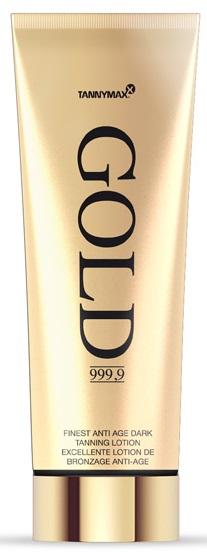 Tannymaxx Gold 999,9 Finest Anti Age Dark Tanning Lotion opalovací krém do solária 200ml