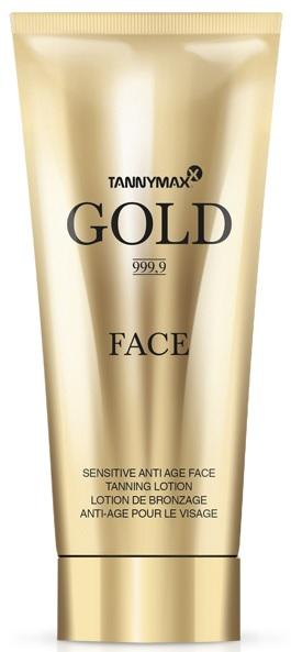 Tannymaxx Gold 999,9 Gold Face opalovací krém do solária 75ml