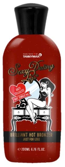 Tannymaxx Sexy Dating Legs Hot opalovací krém do solária 200ml