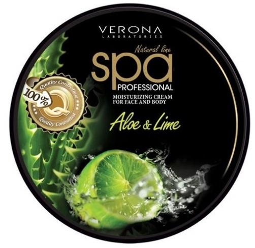 Spa Verona tělový hydratační krém Aloe a Limetka